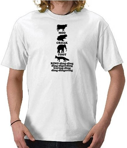 What Does The Fox Say Shirt