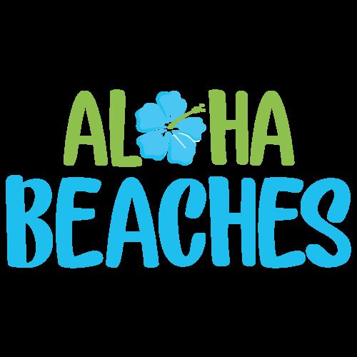 Aloha Beaches - Hawaii T-Shirt