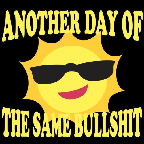 Same Bullsh*t Different Day Hoodie Hoody Men Women Kids Funny Life Quote