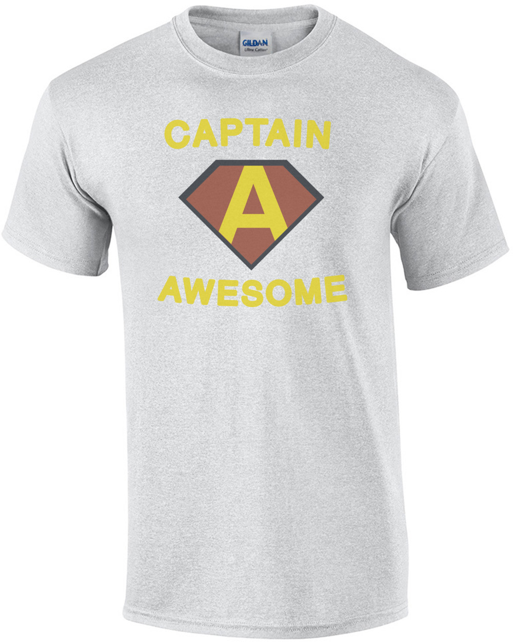 e9496a23 Captain Awesome. Funny T-Shirt shirt