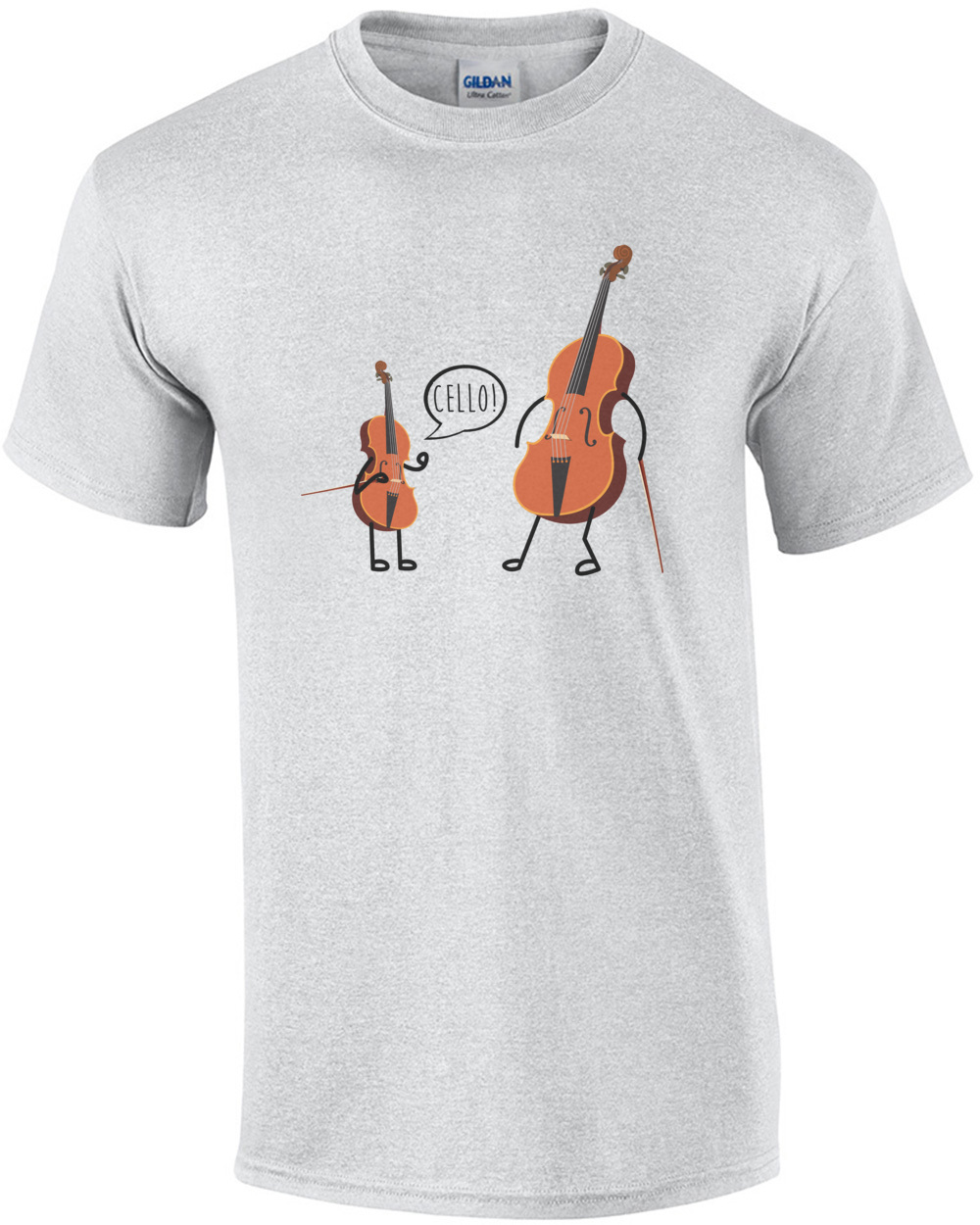 91a0d8f6a Cello! Funny musician t-shirt