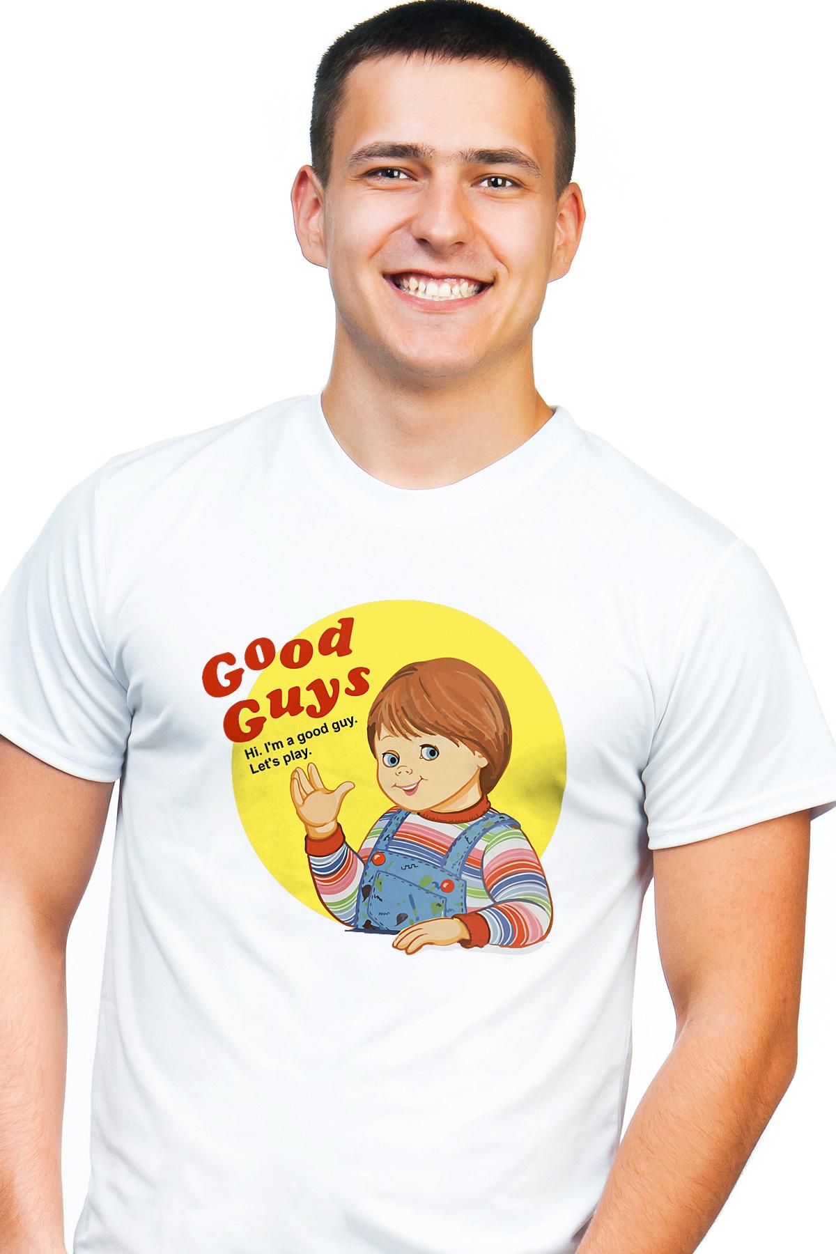 40a0c7cd8 I'm a good guy. Let's play. Child's Play - Chucky T-Shirt - 80's T-Shirt