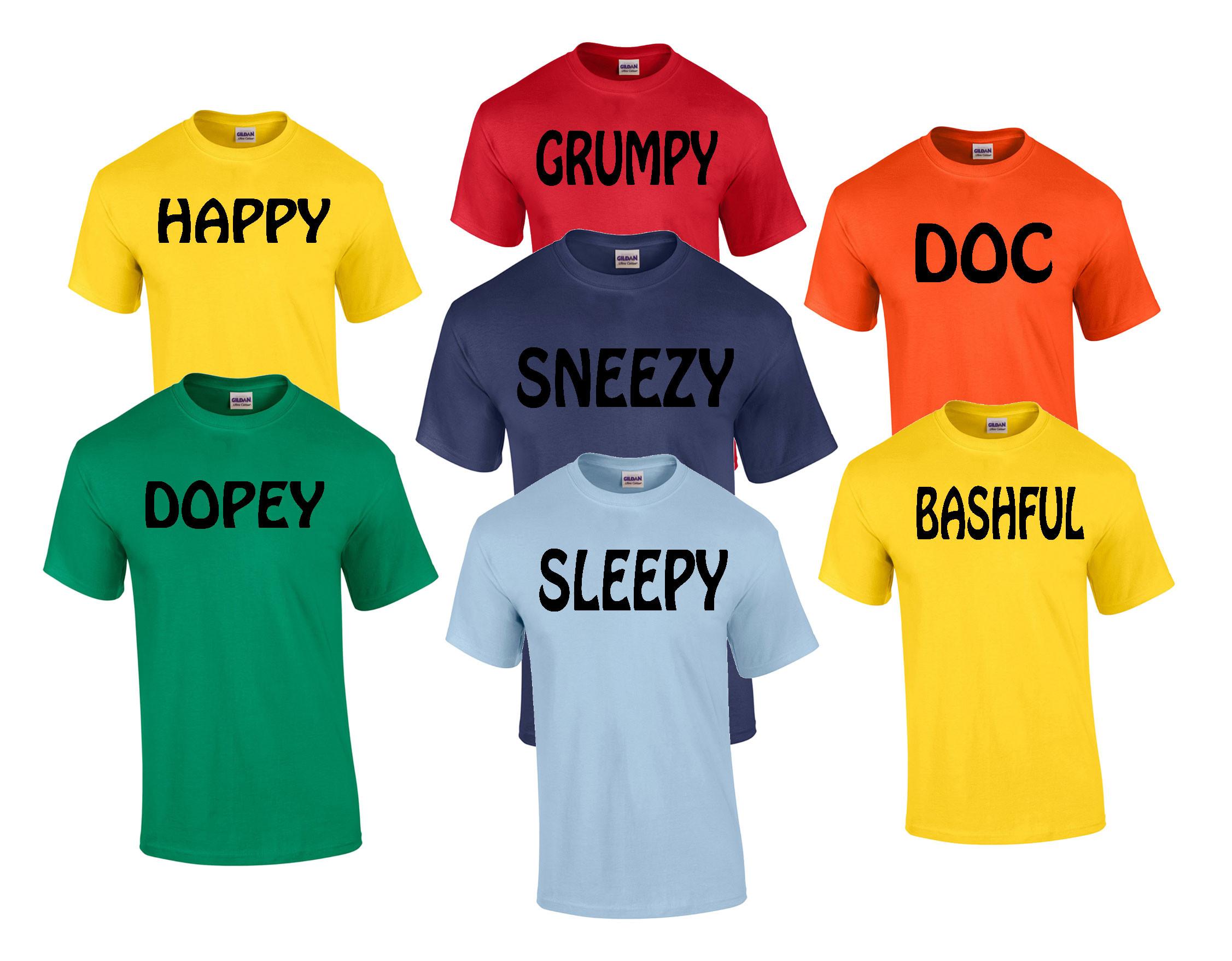 7 Dwarfs T-Shirts