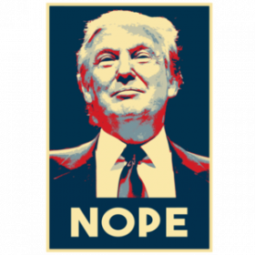 NOPE - Anti-Trump T-Shirt
