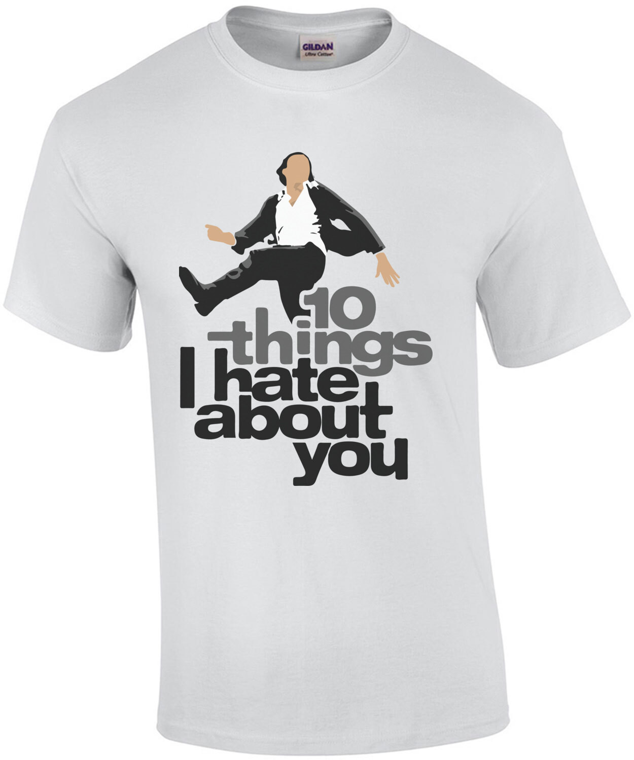 10 Things I hate about you - 90's T-Shirt