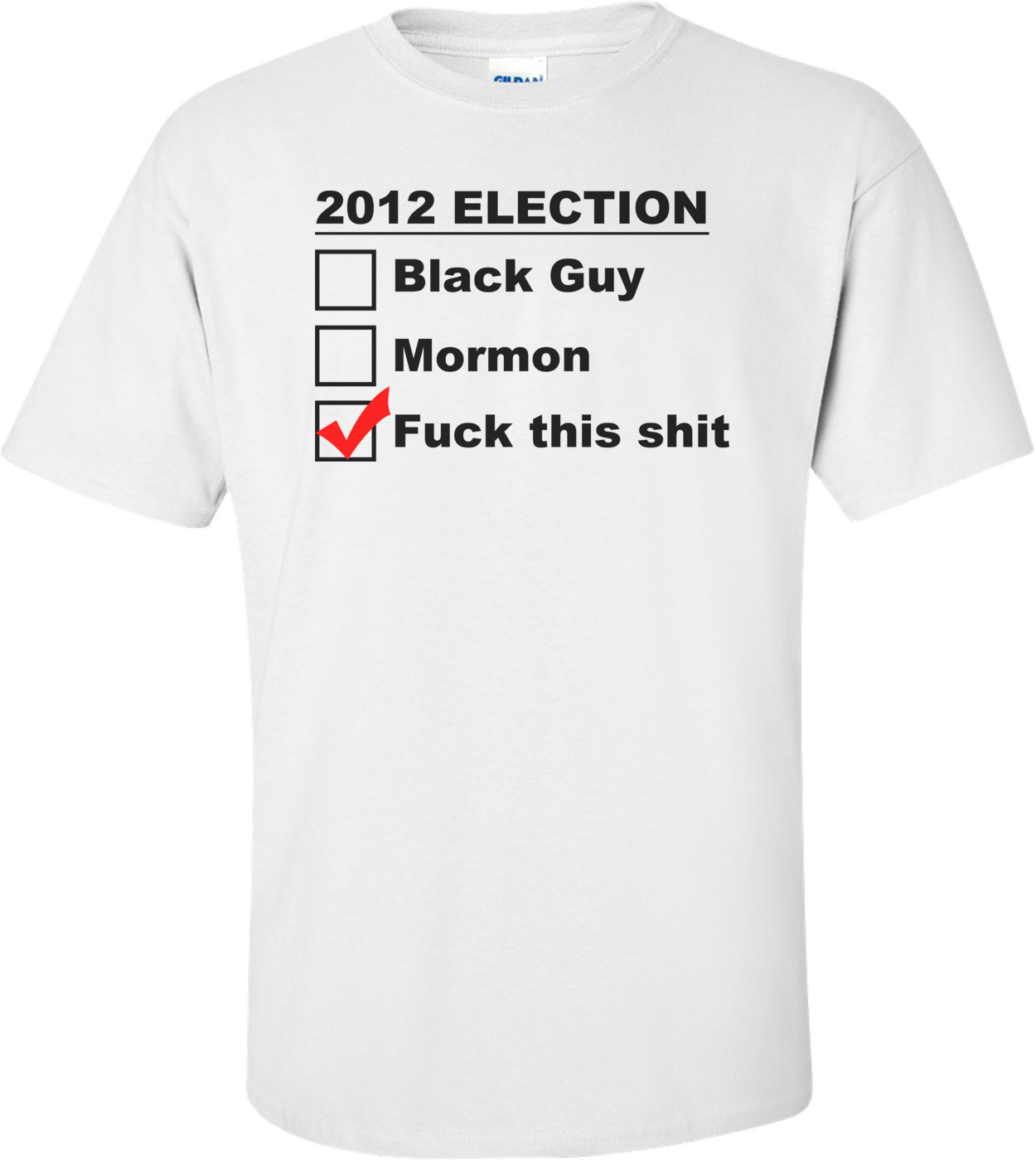 2012 Election - F This! Funny Political Shirt