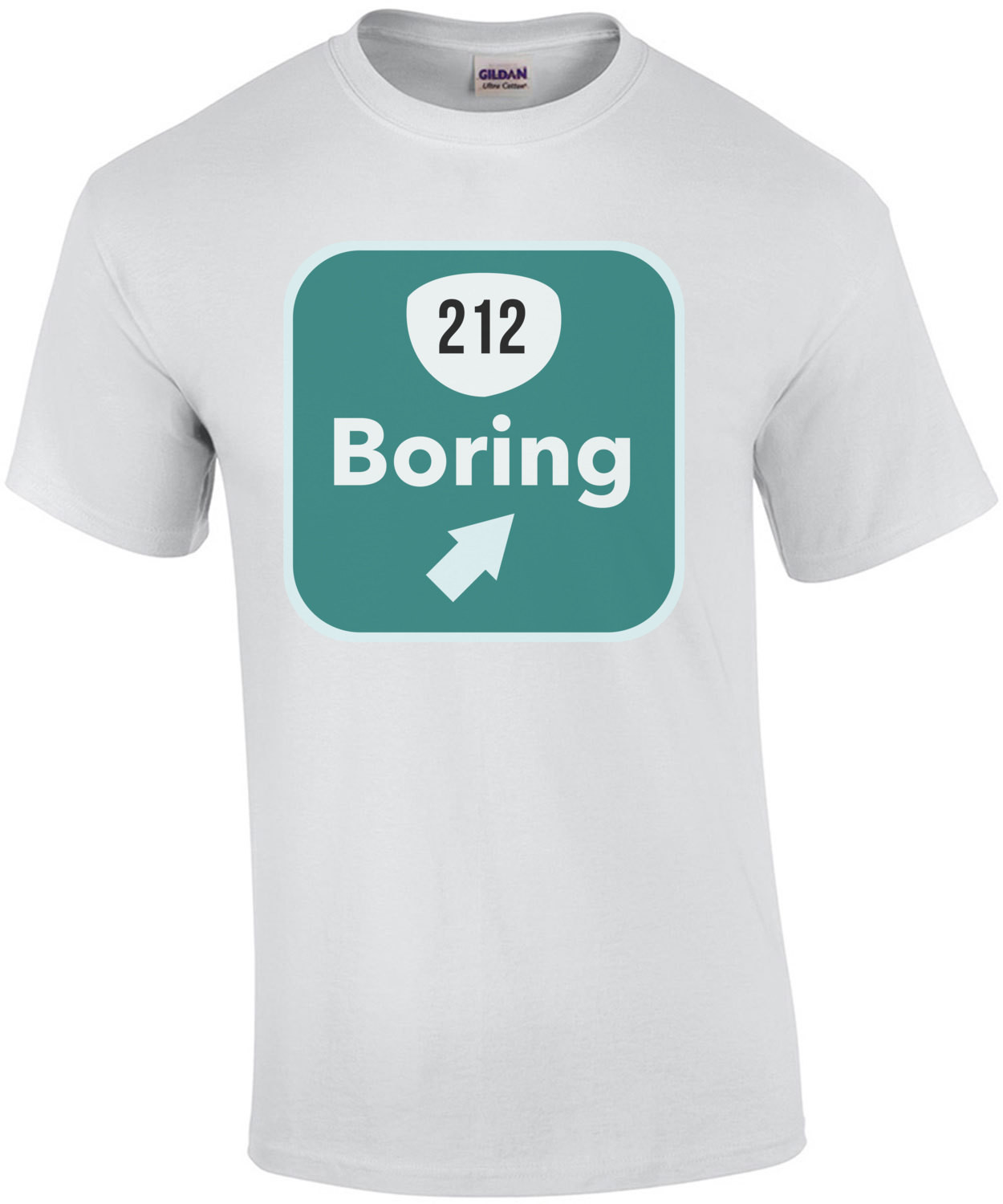 212 Boring - Oregon T-Shirt