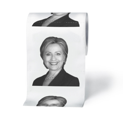 Funny Hillary Clinton Toilet Paper
