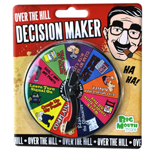 Over The Hill Decision Maker