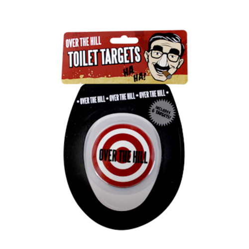 Over the Hill Toilet Target