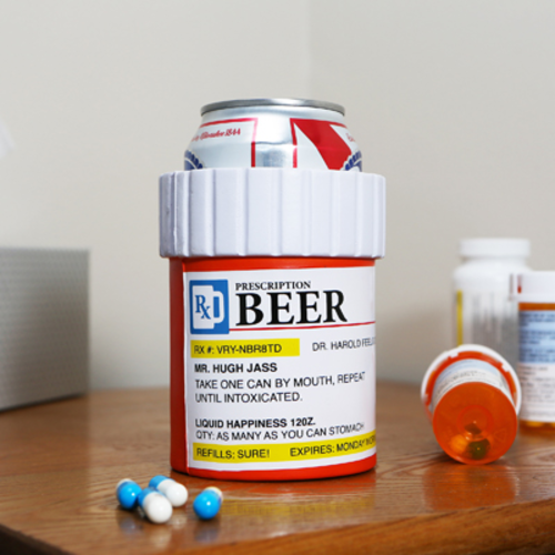Prescription Beer Koozy