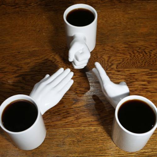 Rock, Paper, Scissors Mug Set of 3