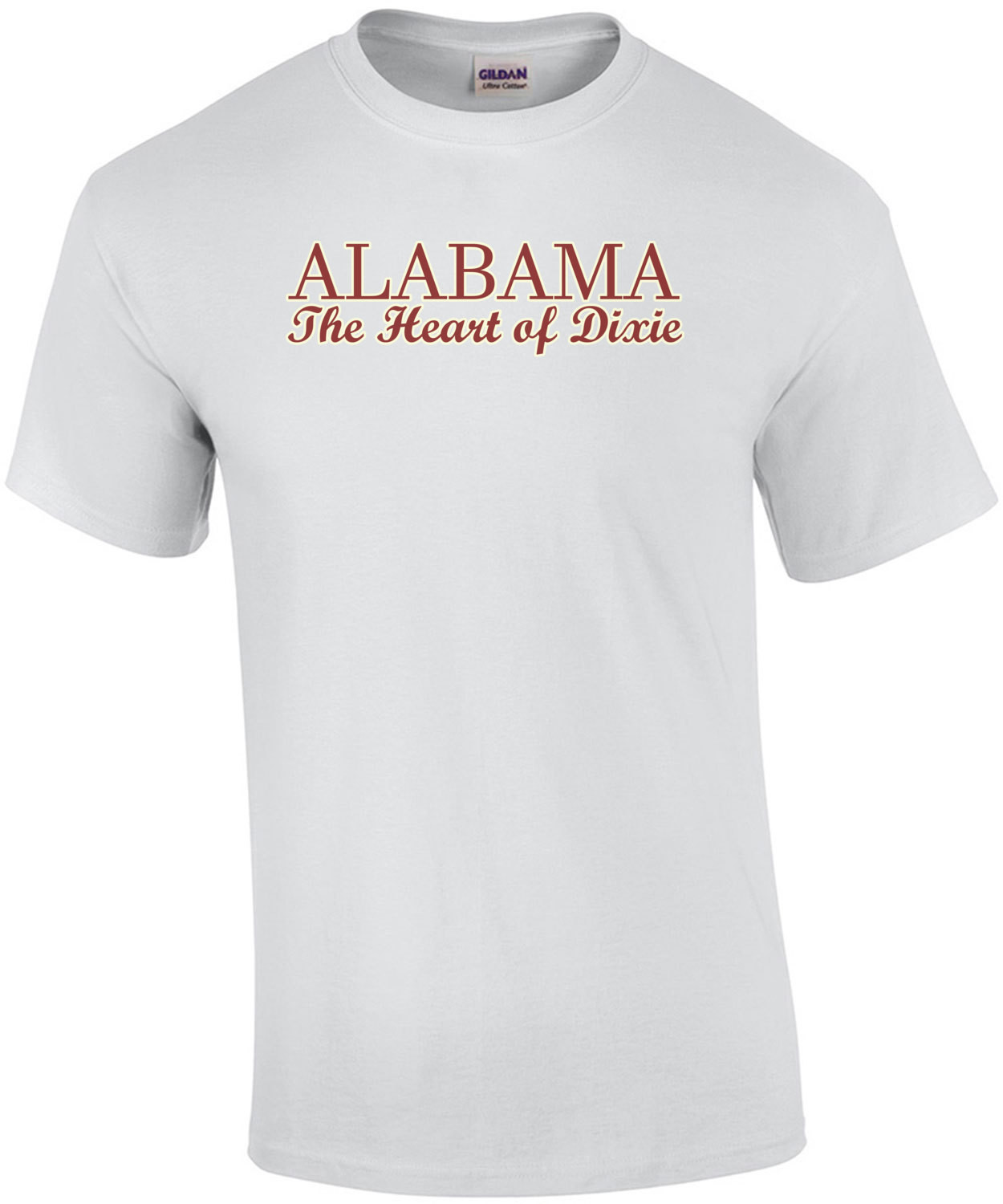 Alabama - the heart of dixie - alabama T-shirt