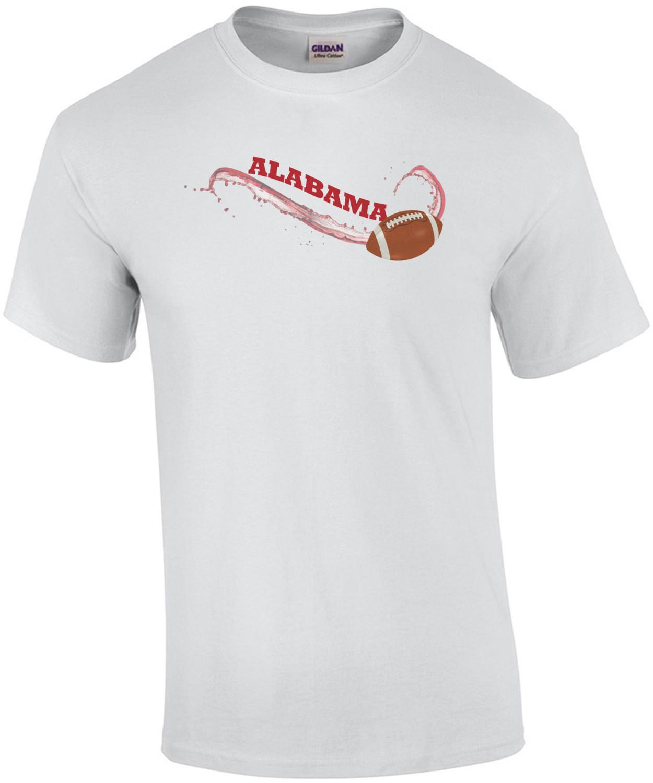 Alabama Football swish - Alabama T-Shirt