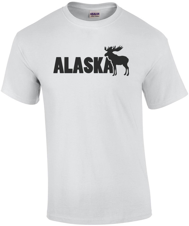 Alaska Moose - Alaska T-Shirt