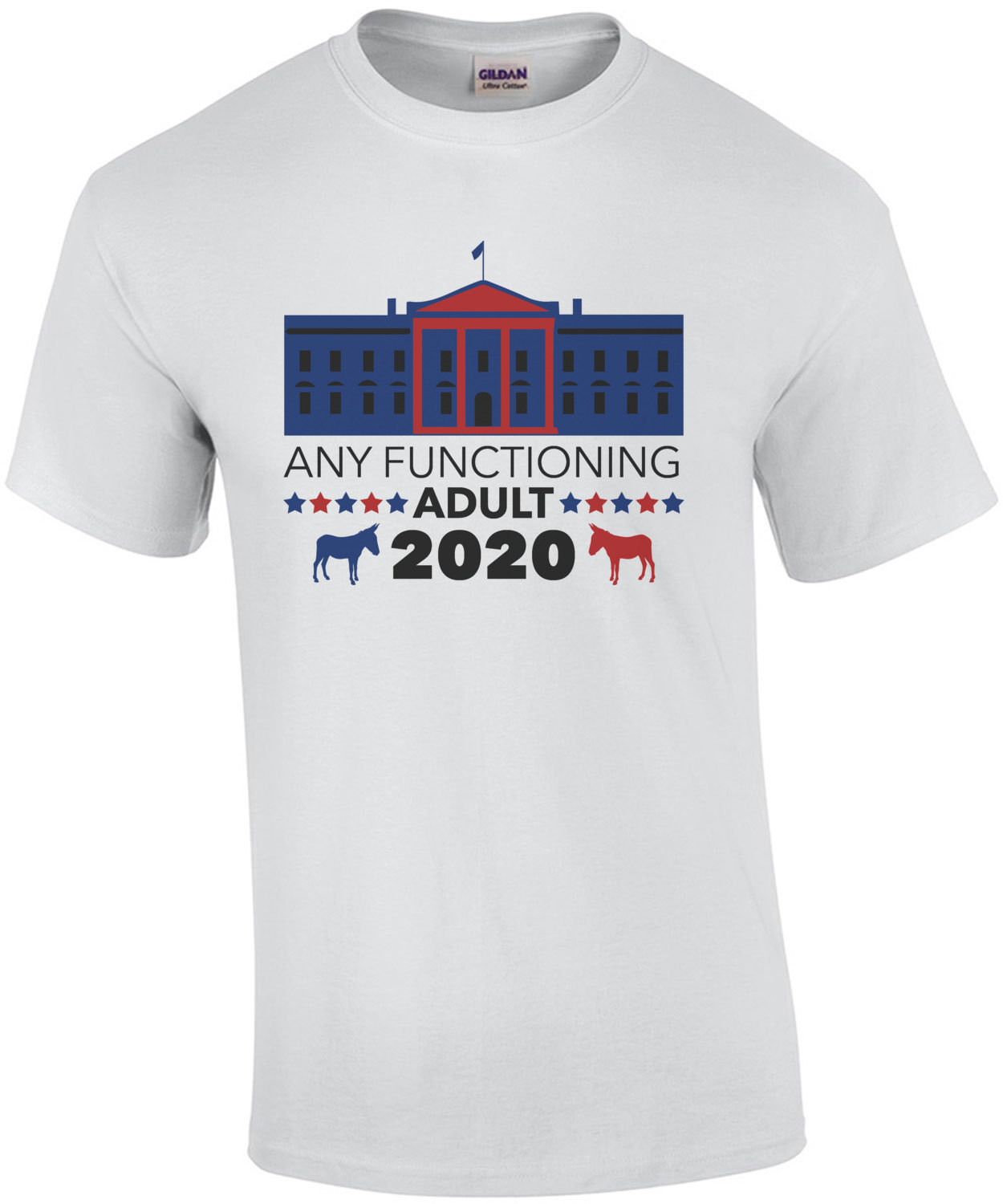 Any Functioning adult - 2020 - Funny 2020 Election Political T-Shirt
