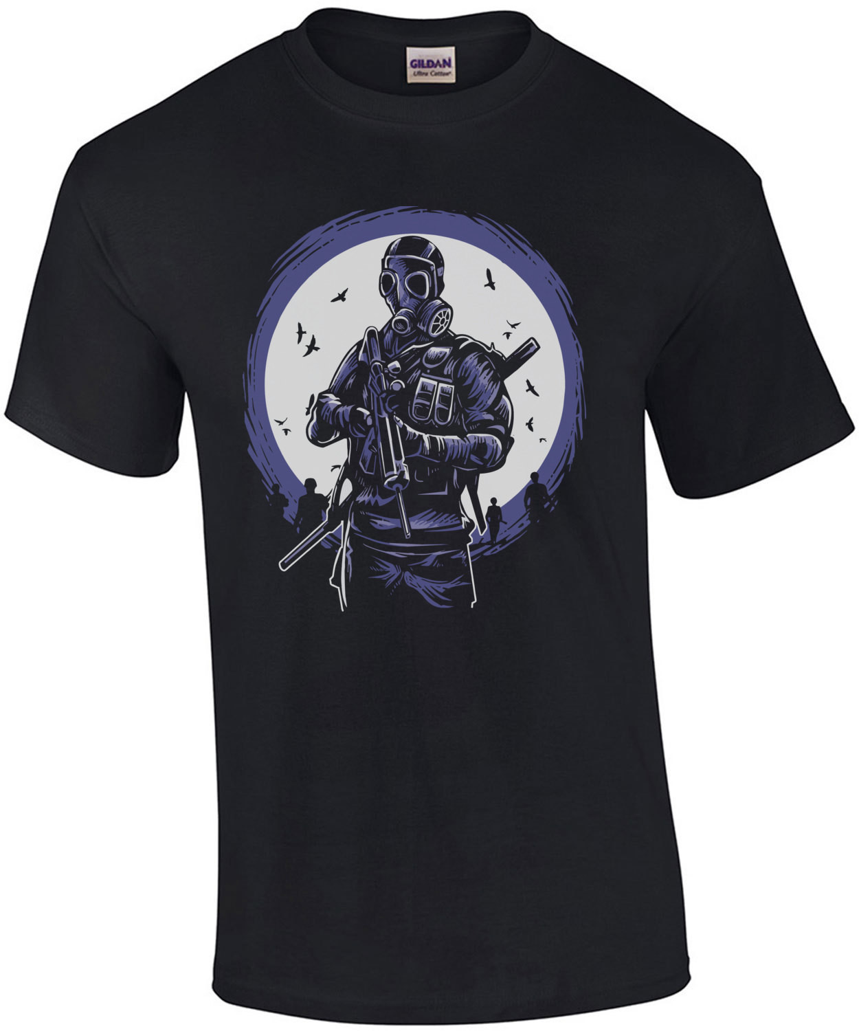 Apocalyptic Soldier Spooky T-Shirt