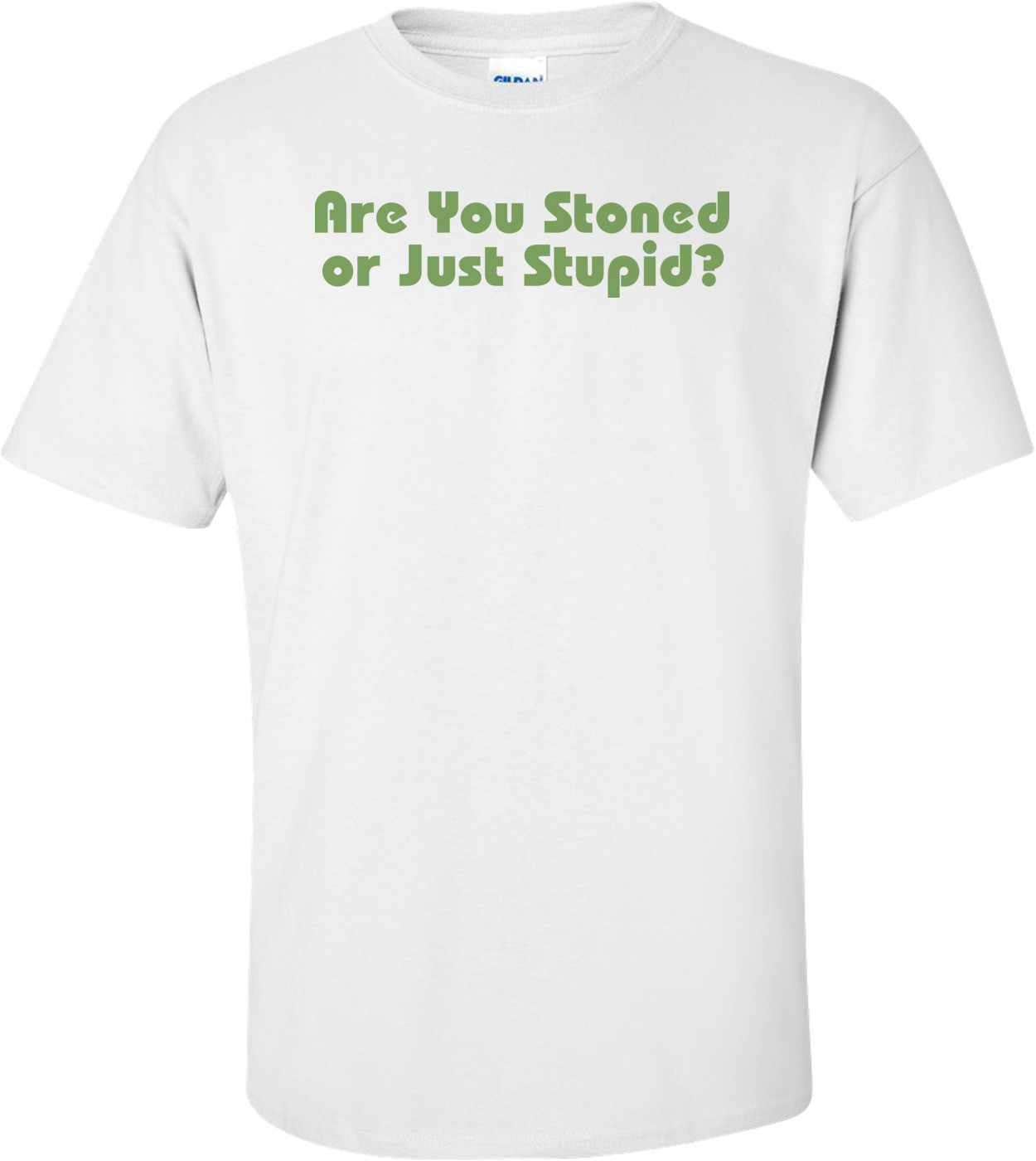 Are You Stoned Or Just Stupid T-shirt