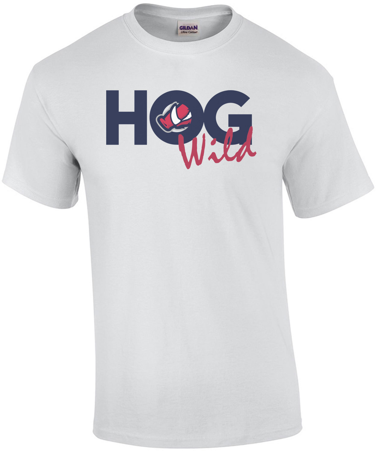Arkansas Hod Wild Razorback Nose - Arkansas T-Shirt