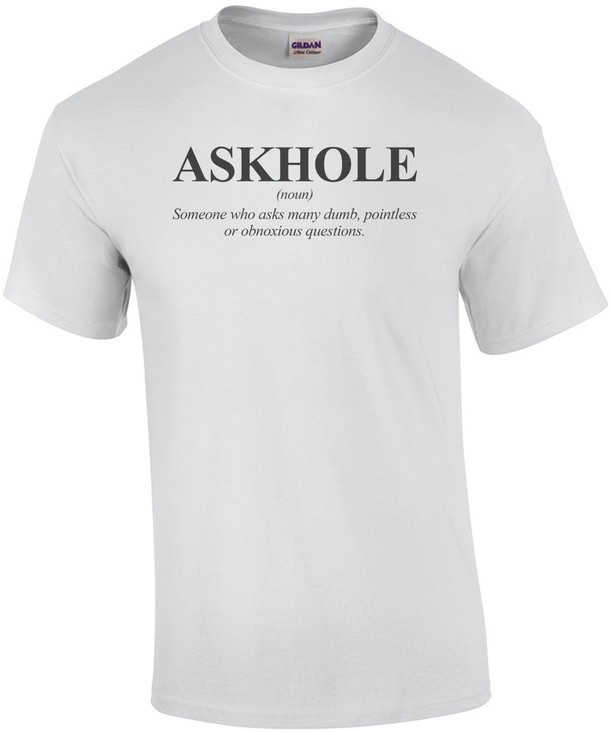 Askhole Definition Shirt shirt