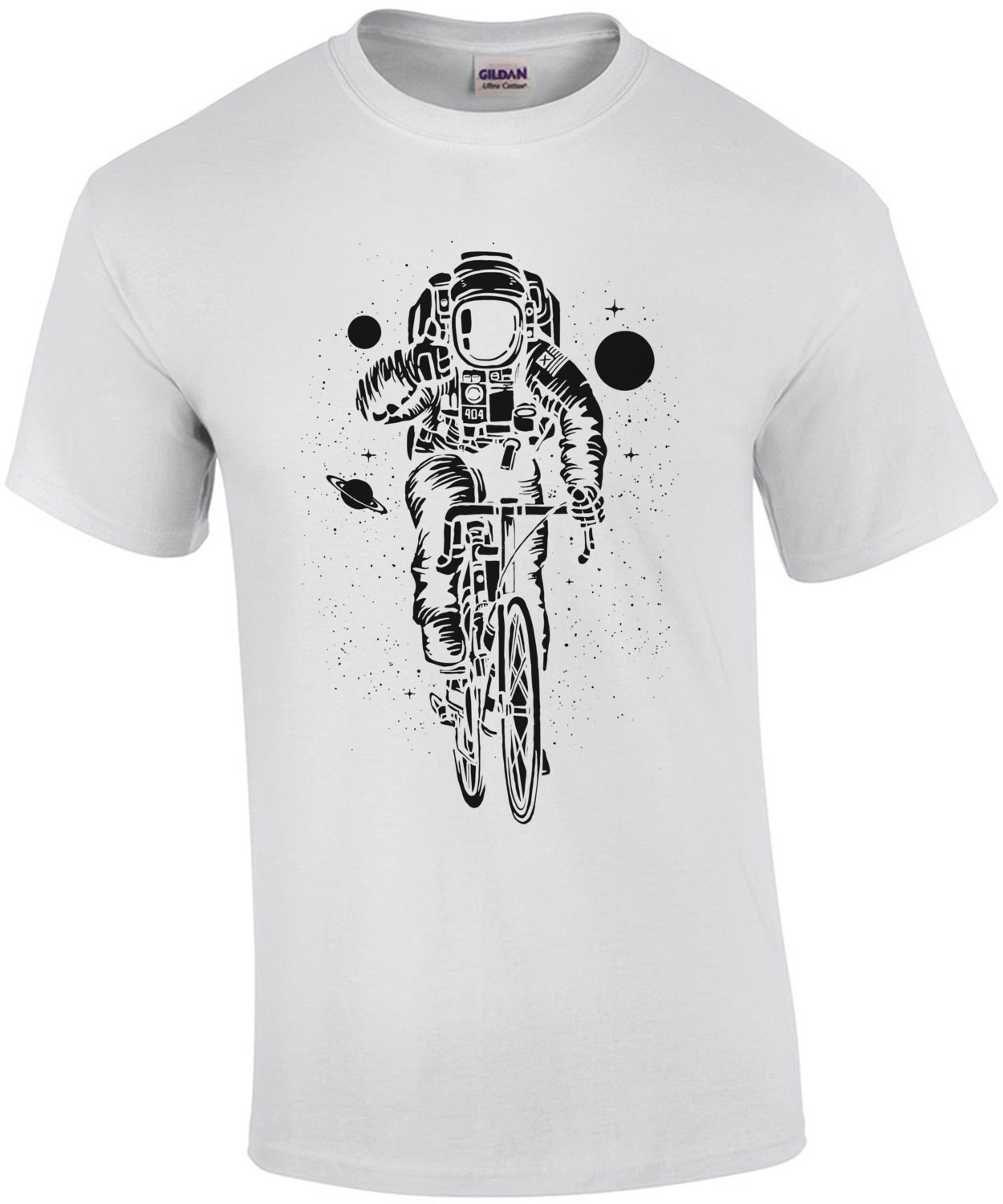Astronaut On A Bicycle T-Shirt