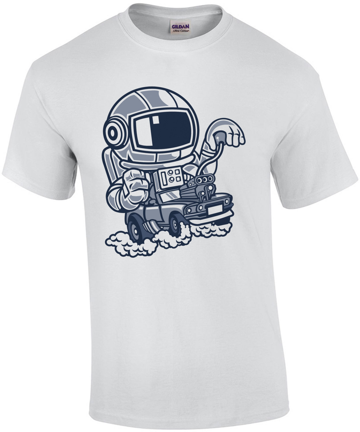 Astronaut Space Racer T-Shirt