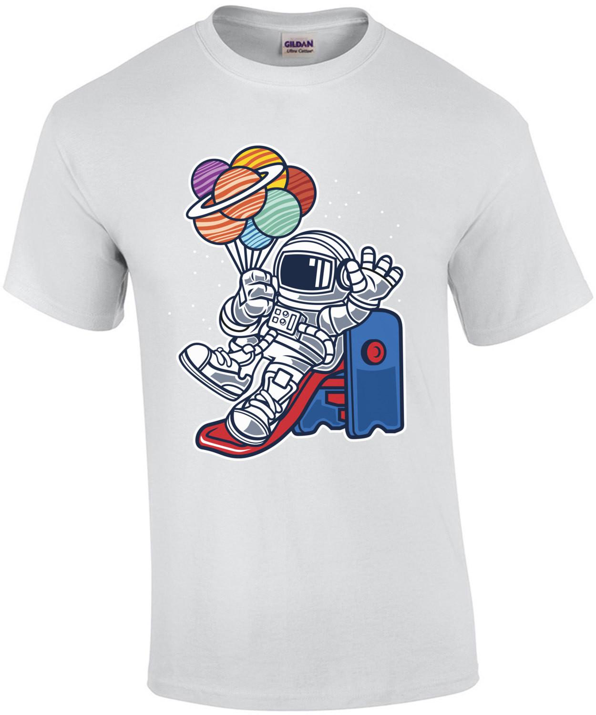 Astronaut Space Slider T-Shirt