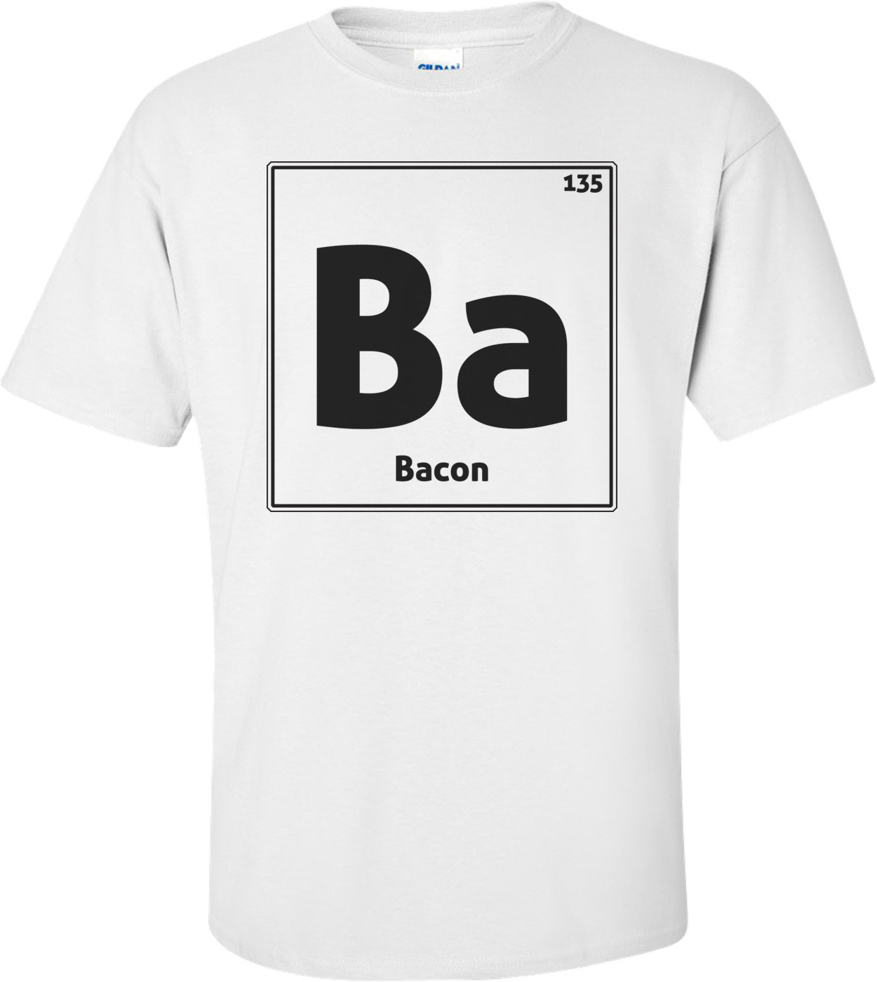 Bacon Periodic Table Shirt