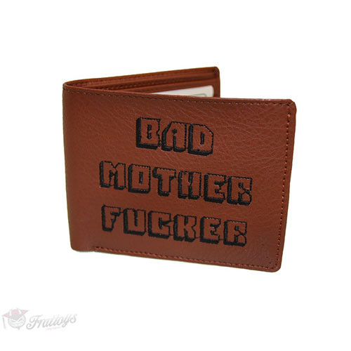 Bad Mother Fucker Pulp Fiction Wallet