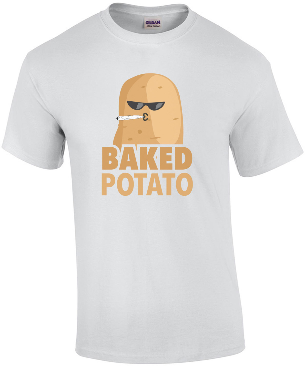 Baked Potato - funny weed t-shirt