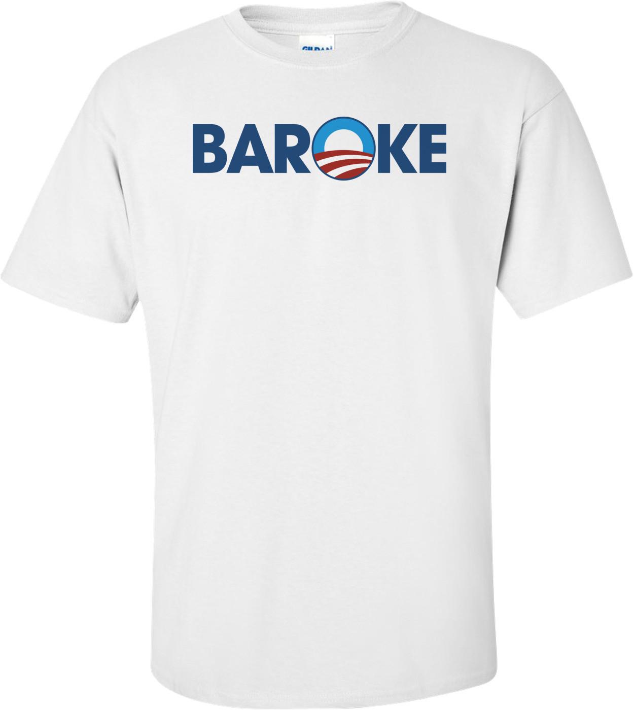 Baroke T-shirt Anti-obama T-shirt