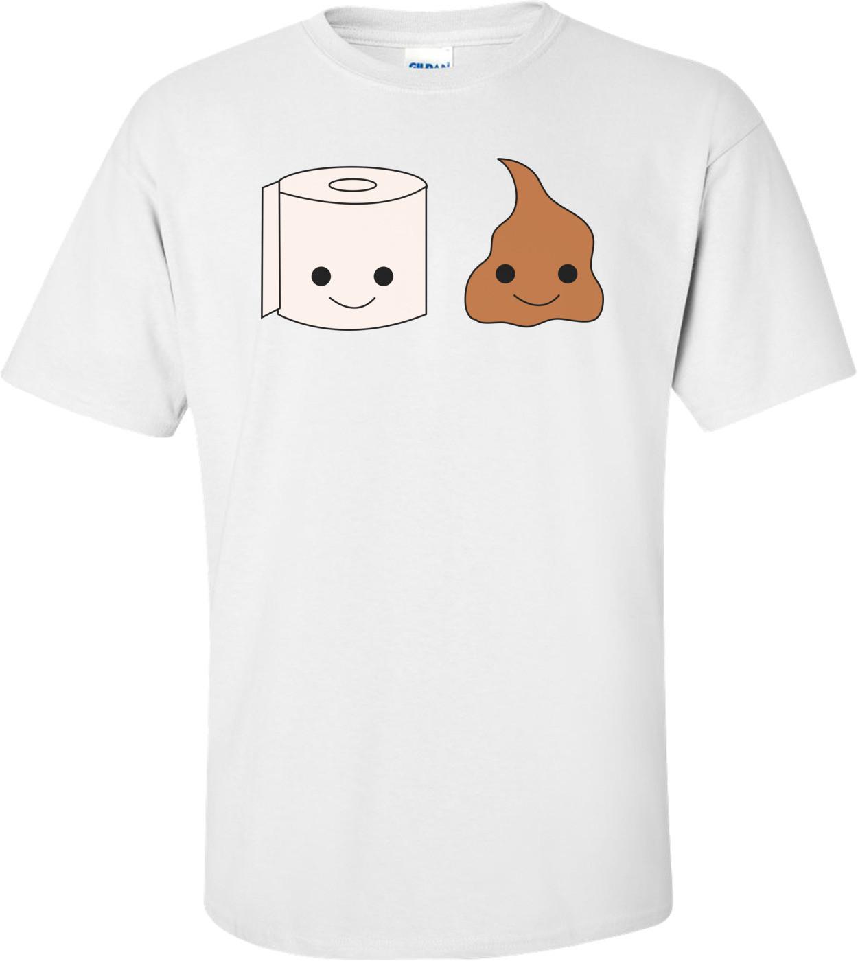 Bathroom Couple Funny Shirt