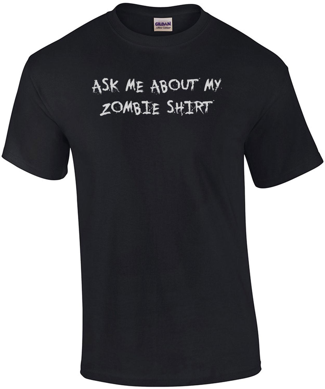 Be a Zombie T-Shirt - Flip Up Shirt