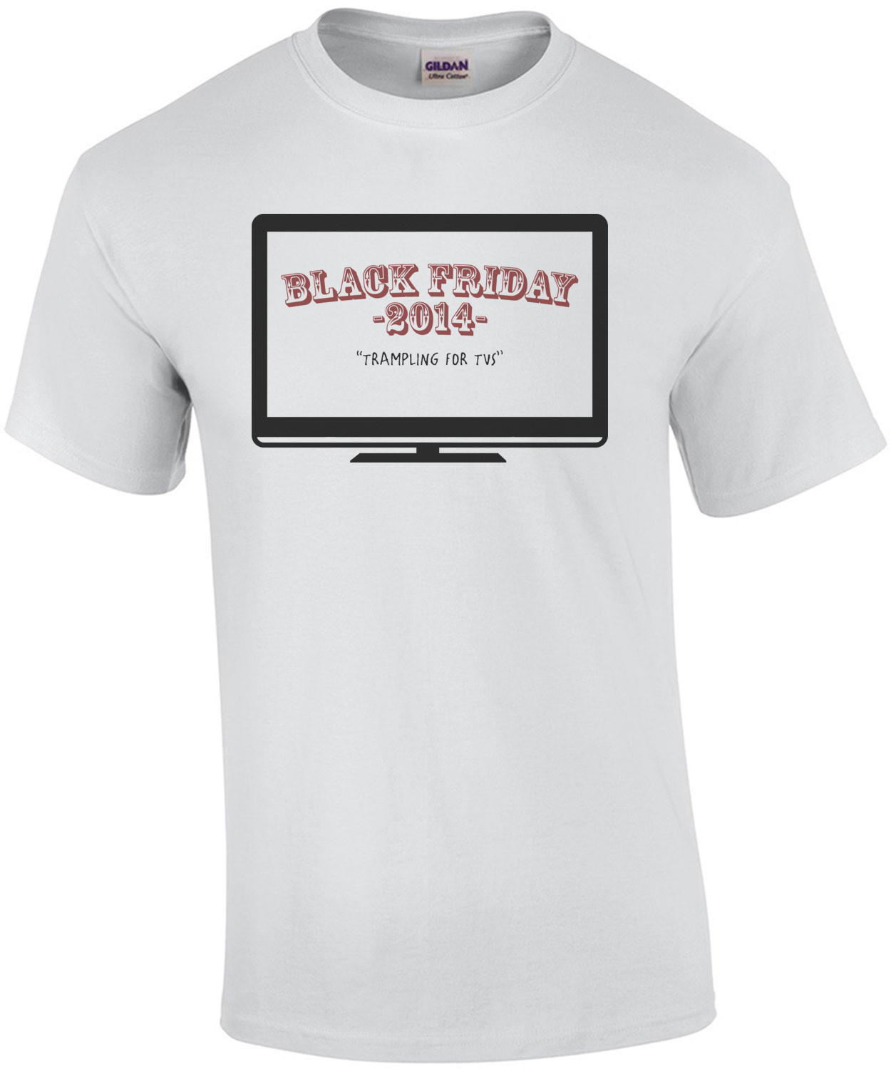Black Friday 2014: Trampling For TVs T-Shirt