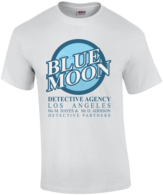 Blue Moon Detective Agency - Moonlighting 80's T-Shirt