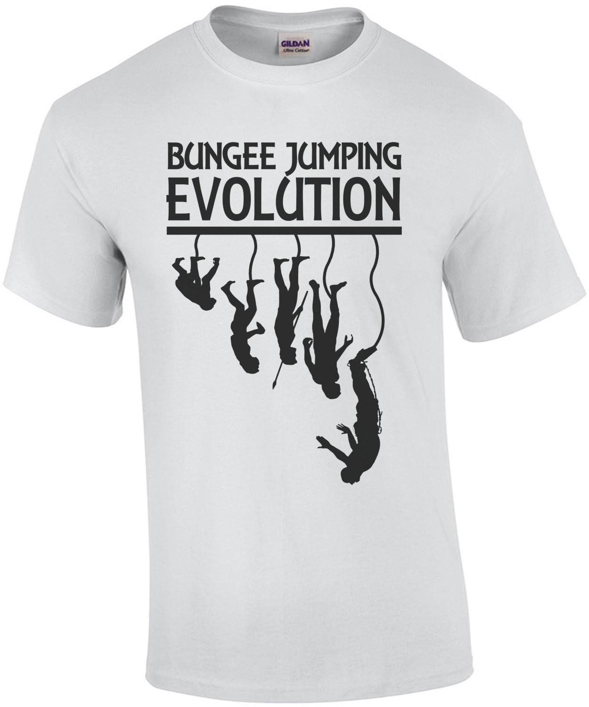 Bungee Jumping Evolution T-Shirt
