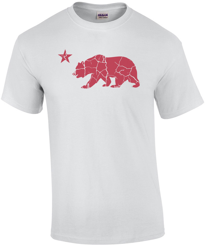 California Bear Star - California T-Shirt
