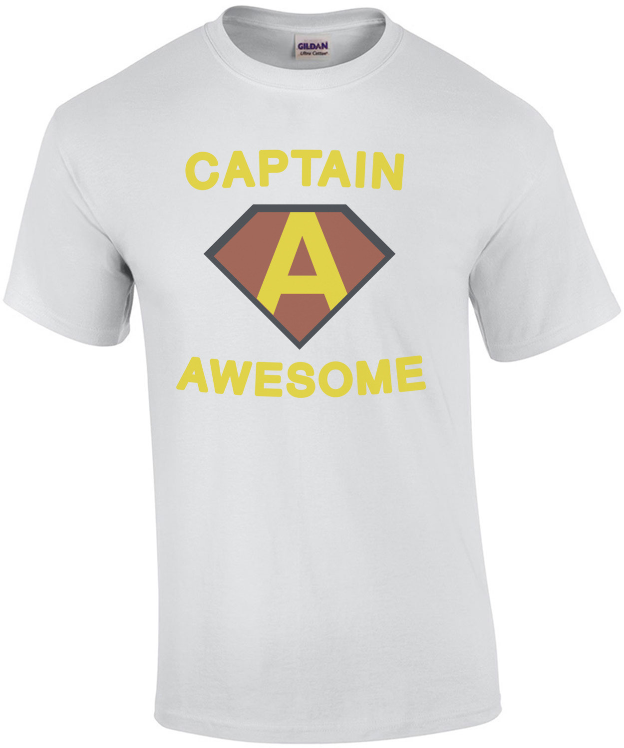 Captain Awesome. Funny T-Shirt
