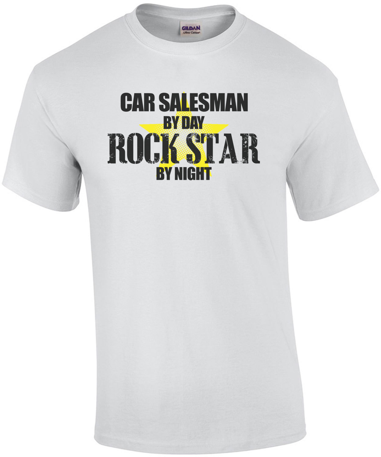 Car Salesman By Day Rock Star By Night T-Shirt