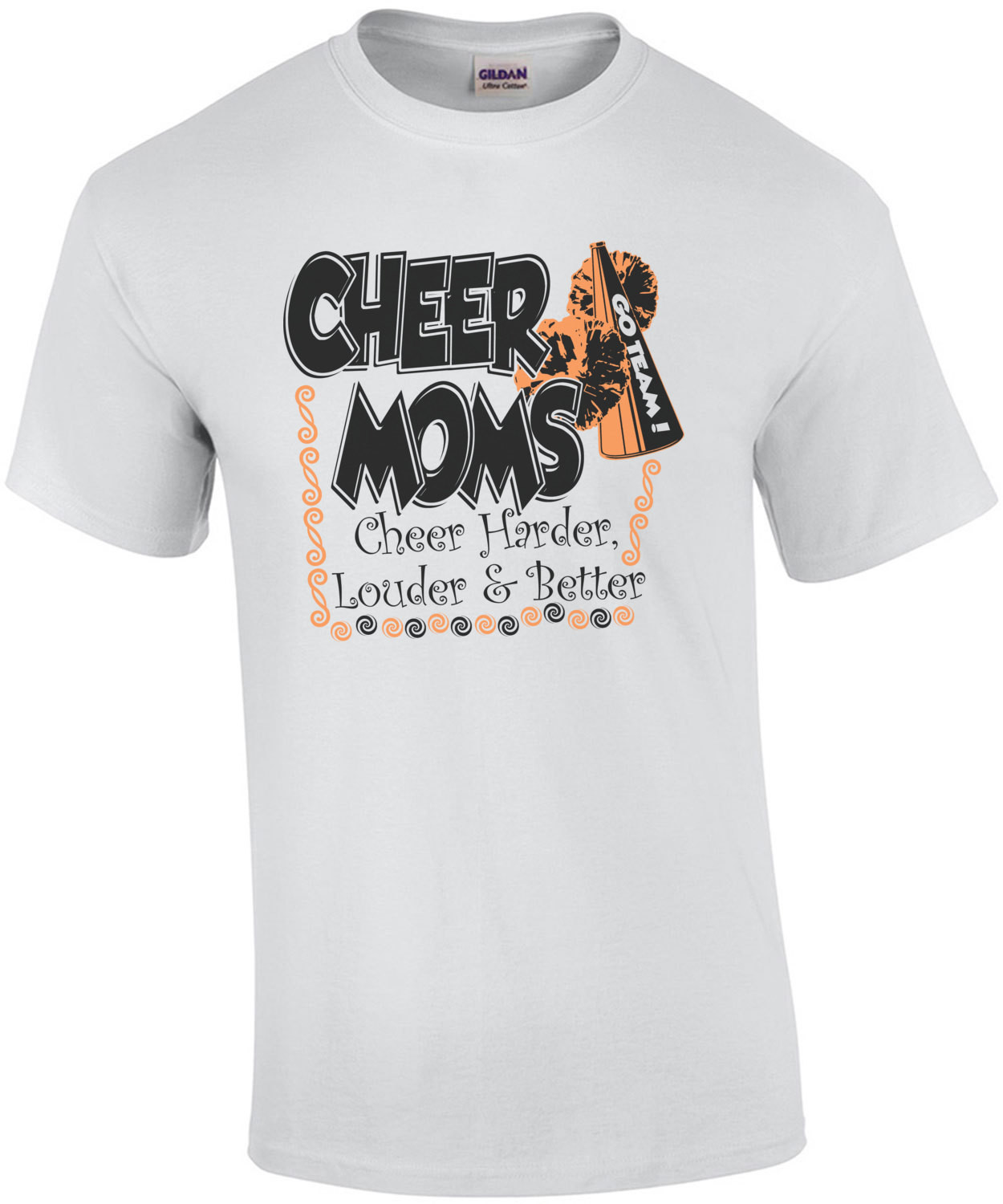 Cheer Moms Cheer Harder Louder And Better T-Shirt