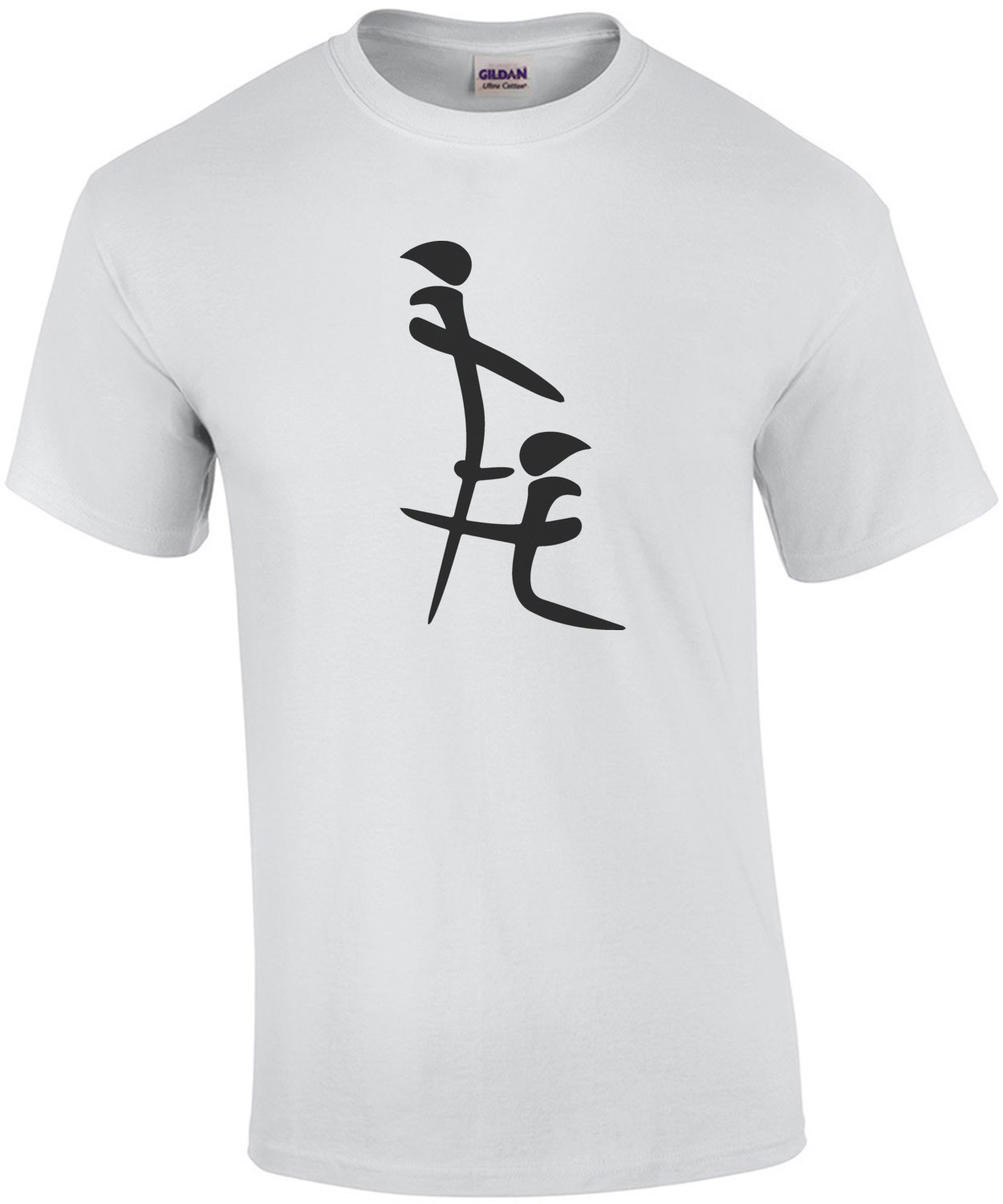 Chinese Blowjob Symbol - Funny T-Shirt
