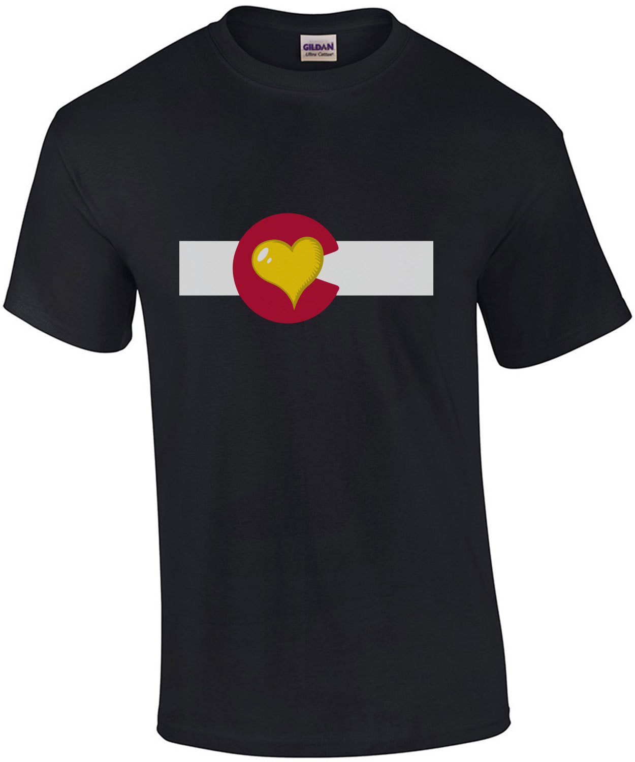 Colorado Heart - Colorado T-Shirt