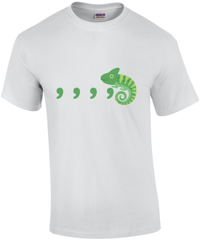 comma comma comma chameleon parody Culture Club - Karma Chameleon 80's t-shirt