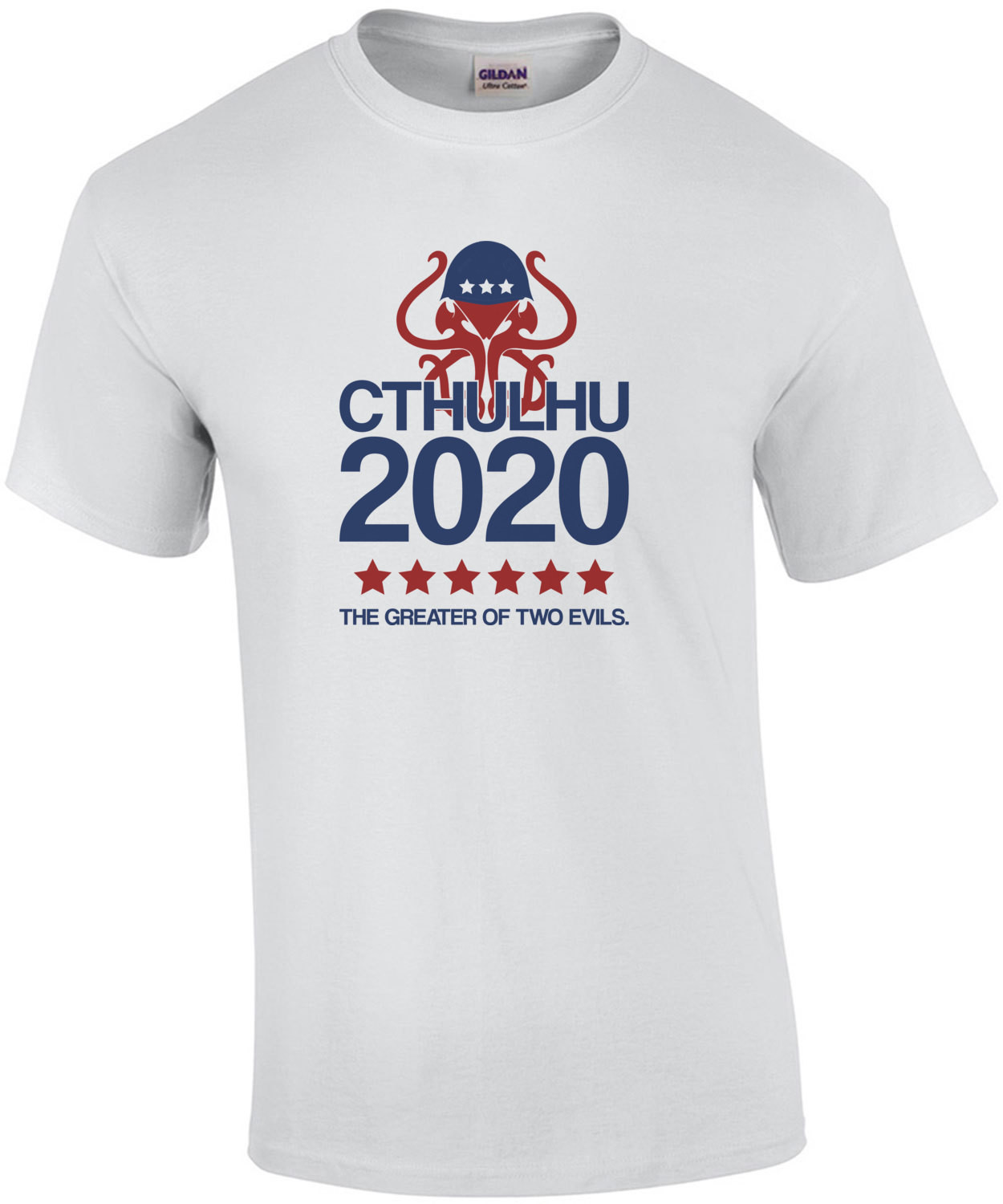 CTHULHU 2020 - The greater of two evils. 2020 Election T-Shirt