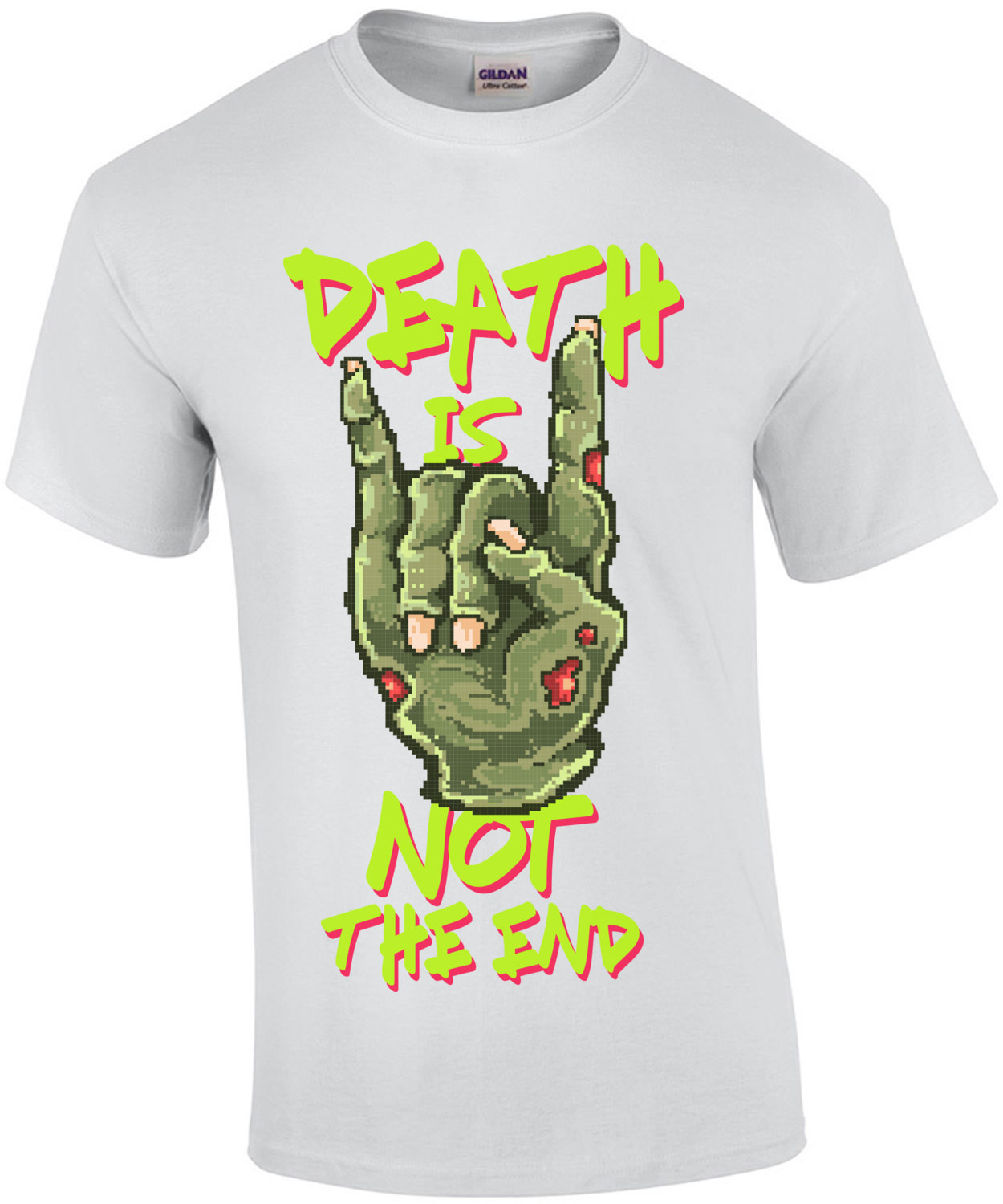 Death Is Not The End Retro Zombie T-Shirt
