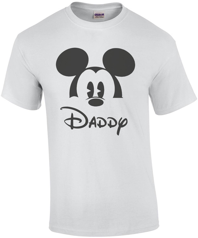 Disney Group Shirt - Daddy - Disney T-Shirt