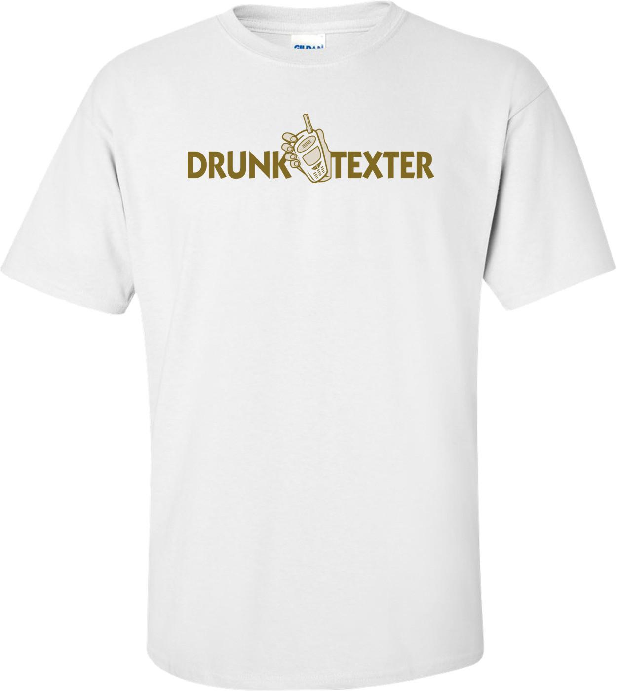 Drunk Texter T-shirt