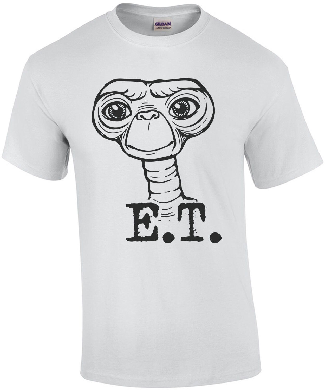 E.T. Alien T-Shirt - 80's T-Shirt