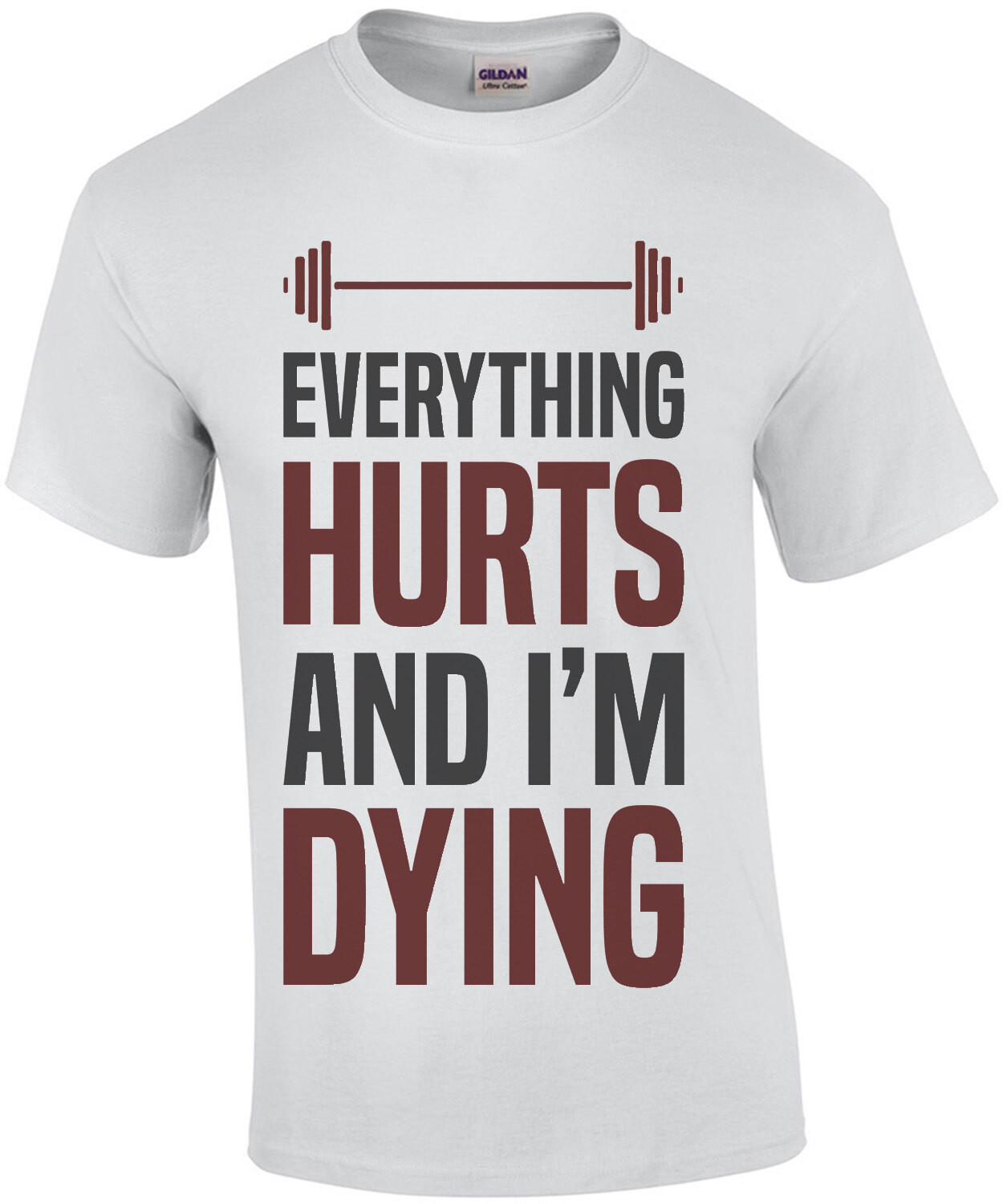 Everything hurts and I'm dying - funny work out t-shirt