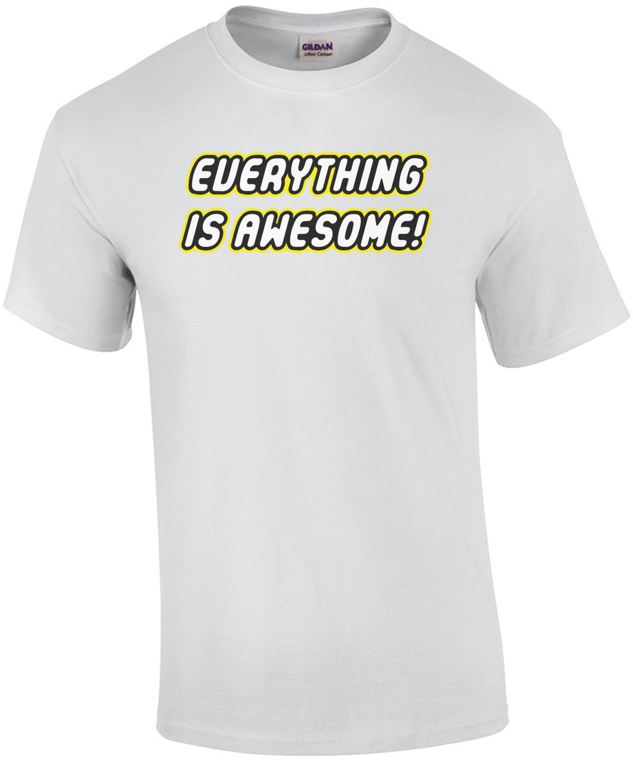 Everything is awesome - Lego Movie T-Shirt shirt